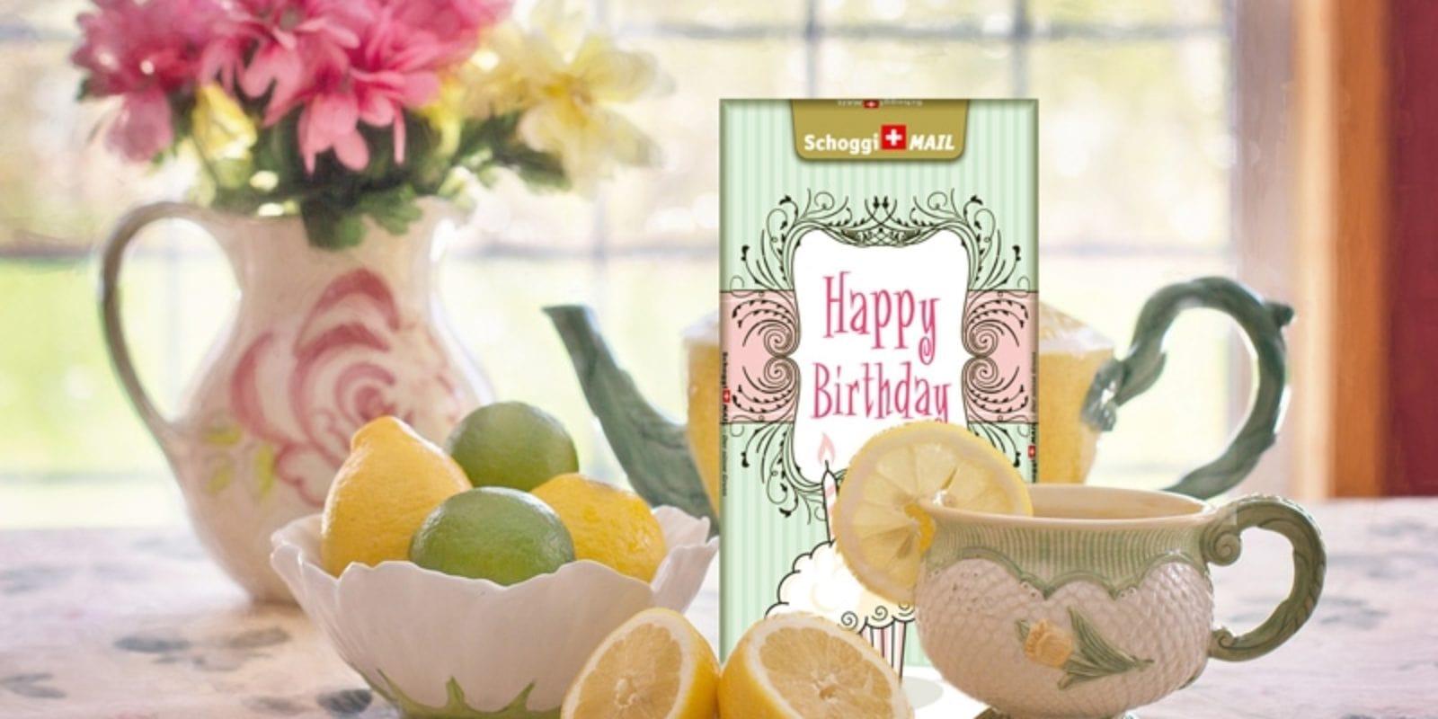 Motiv Happy Birthday