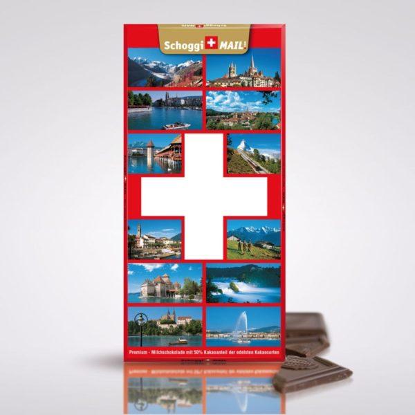 Schweizer Kreuz mit Fotos