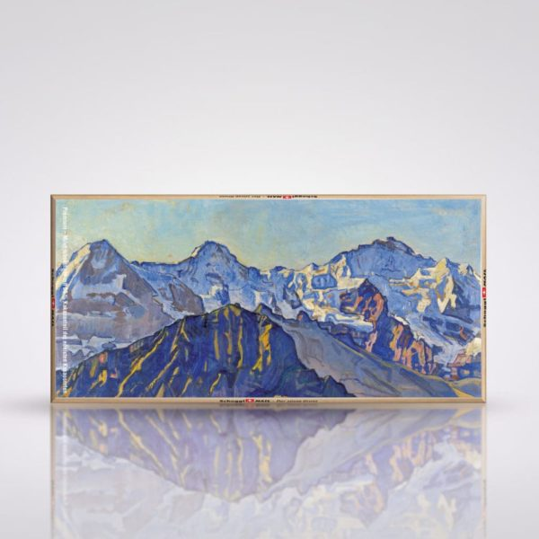 F. Hodler - Eiger, Mönch und Jungfrau