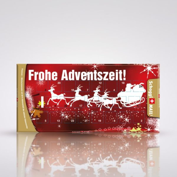 Frohe Adventszeit! Adventskalender