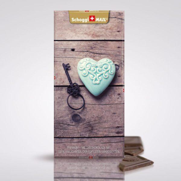 Herz mit Schlüssel