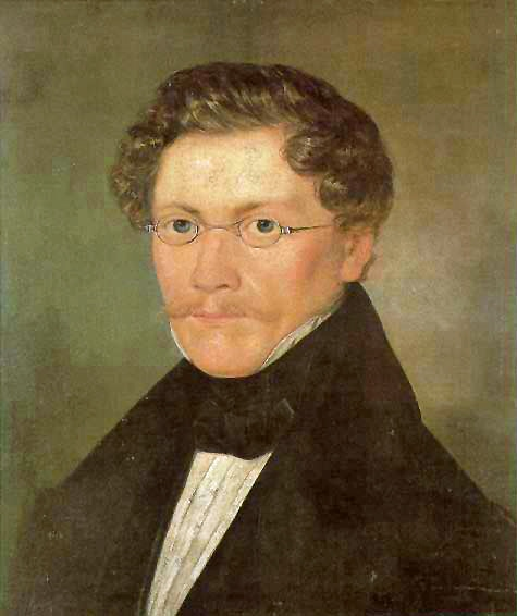 Selbstbildnis von Carl Spitzweg (Quelle: wikimedia.org)